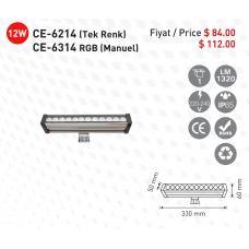 CE-light-CE-6214-Siva-Ustu-Tek-Renk-Trafolu-Led-WallWasher